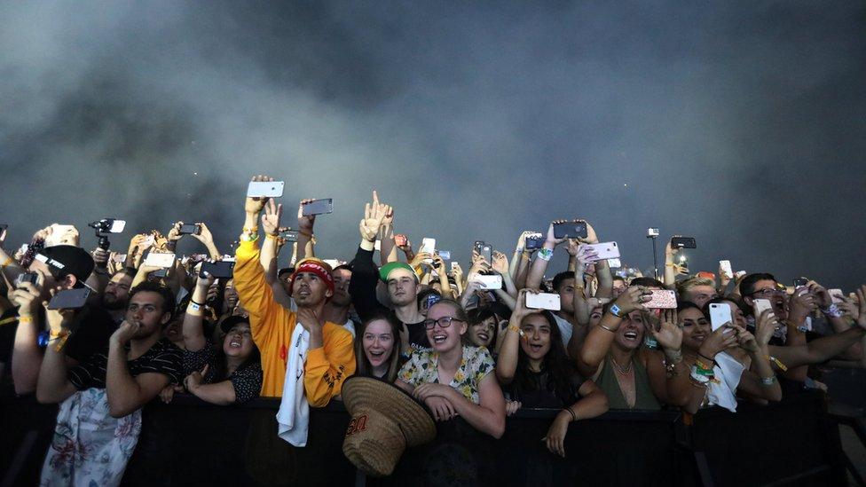 مهرجان كوتشيلا الموسيقى بولاية كاليفورنيا الأمريكية
