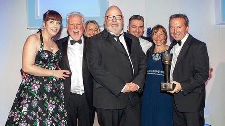 BBC Radio Ulster/Foyle team