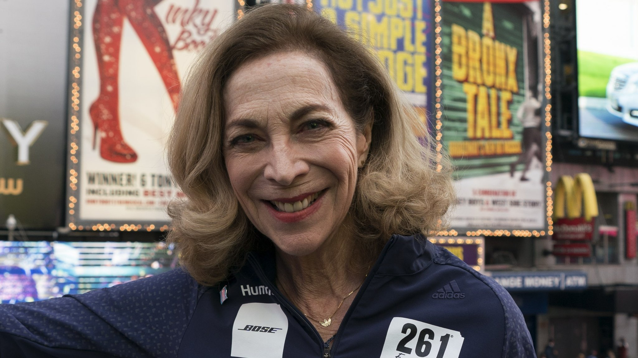 Kathrine Switzer: Female pioneer to run in London 51 years after running Boston Marathon