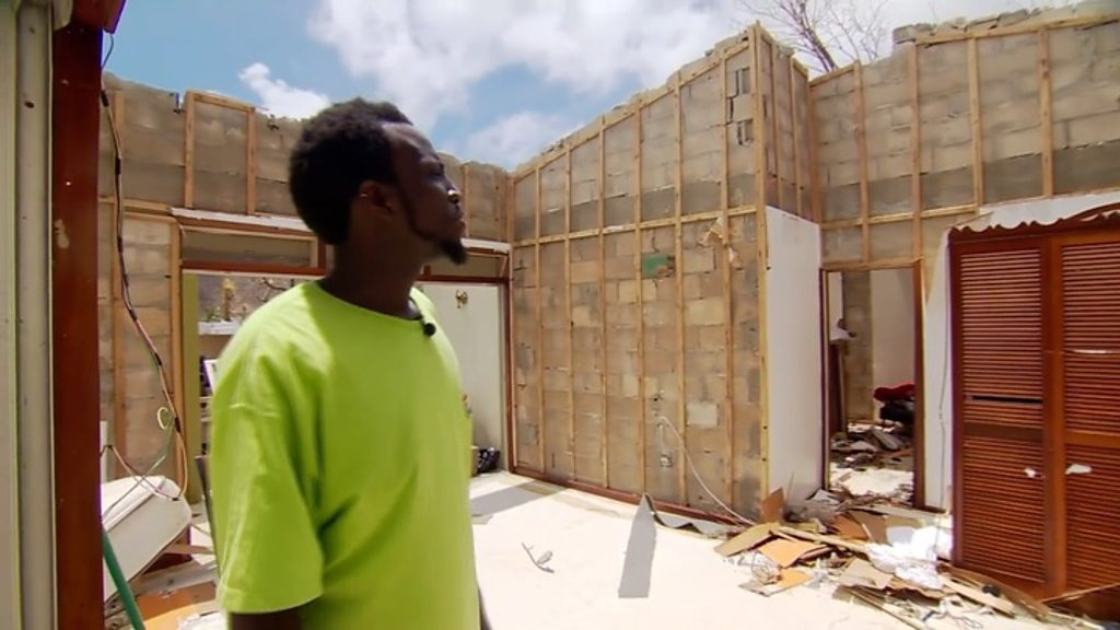 Hurricane Irma: 'My roof blew off - I lost everything'