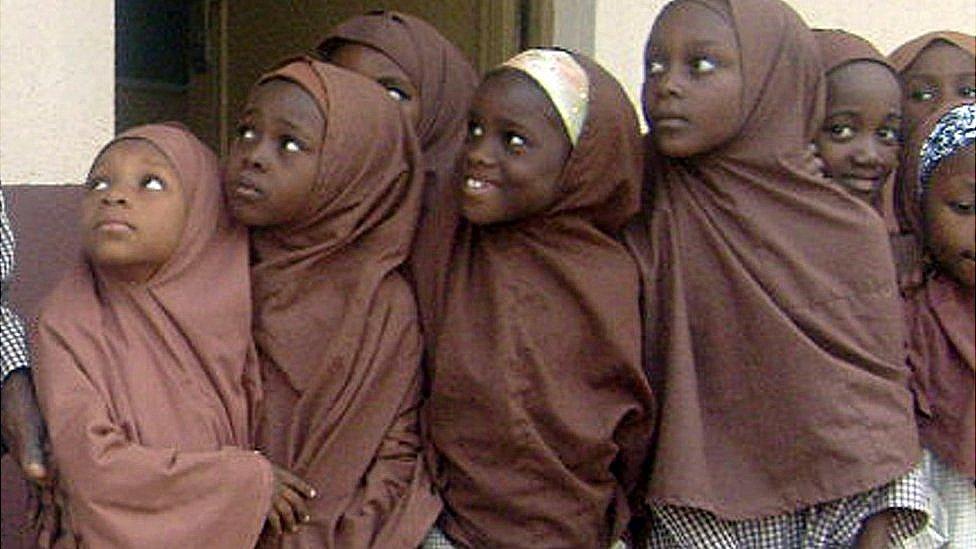 Niñas en Kano, Nigeria.