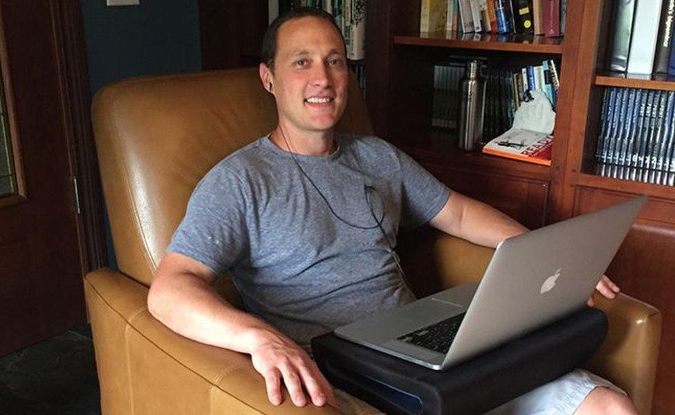 Hubstaff chief executive Jared Brown