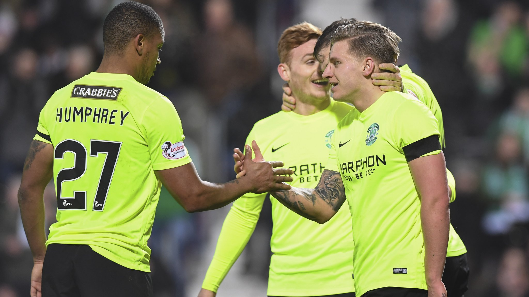 Scottish Cup: Hibs boss Neil Lennon pleased with start to trophy defence