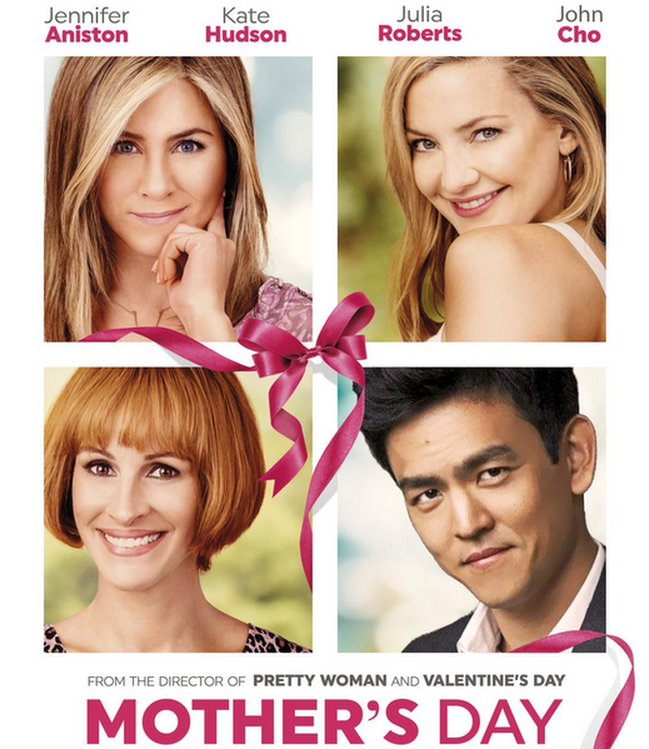John Cho as the lead character in Mother's Day movie poster