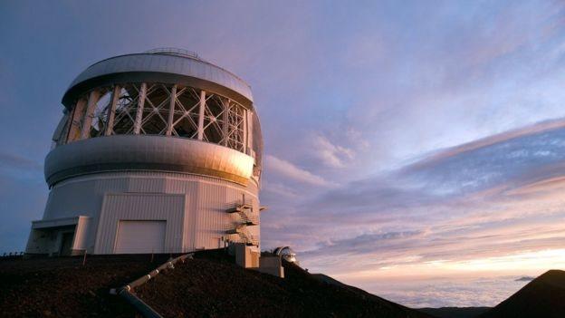 Observatorio Gemini Norte en Hawaii. Foto: SPL