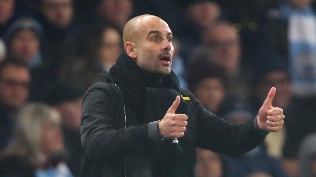 Pep Guardiola: Man City boss says good performance more important than winning run