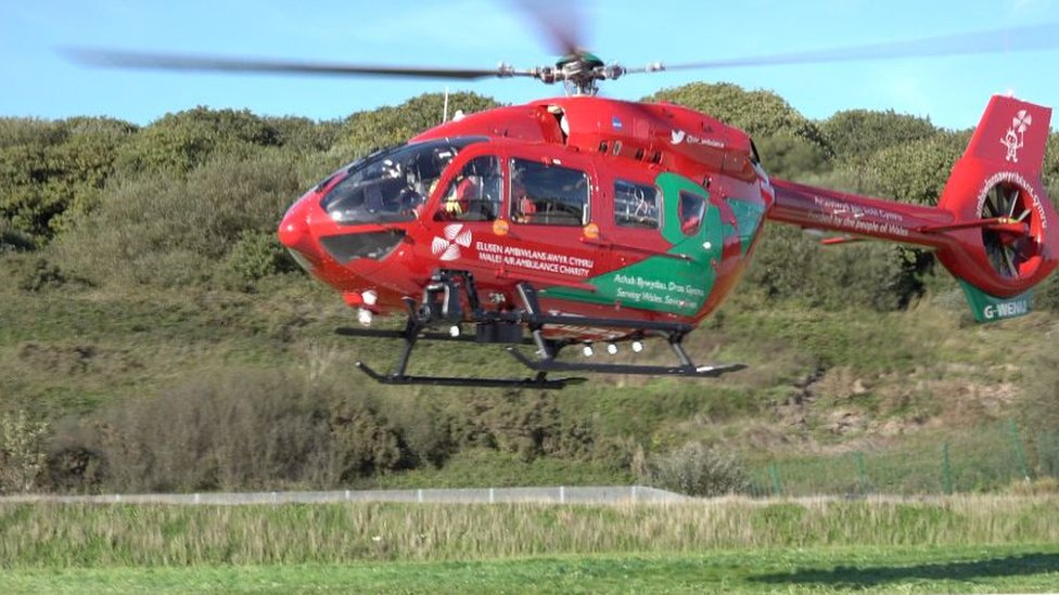 Motorcyclist, 83, seriously hurt in Ogmore-by-Sea crash