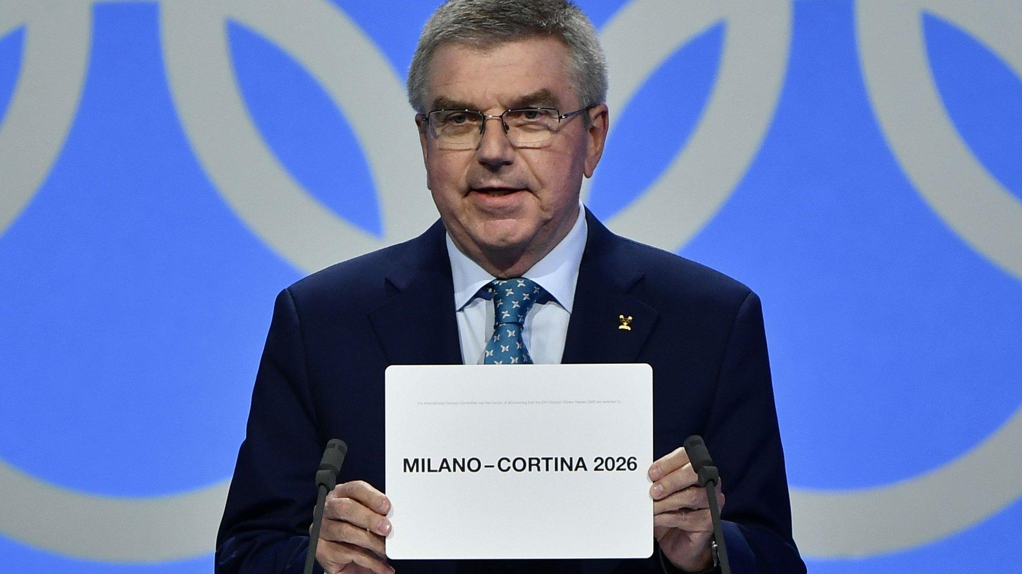 Winter Olympics & Paralympics: Italy's Milan-Cortina chosen to host 2026 Games