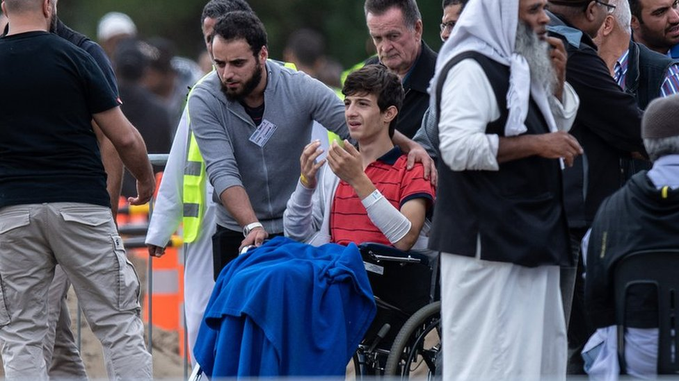 Christchurch shootings: Father and son in first victims' funerals