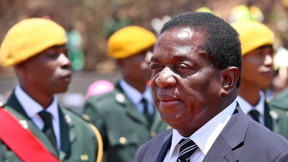 Zimbabwe, Emmerson Mnangagwa