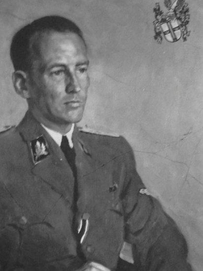 Retrato de Otto von Wächter