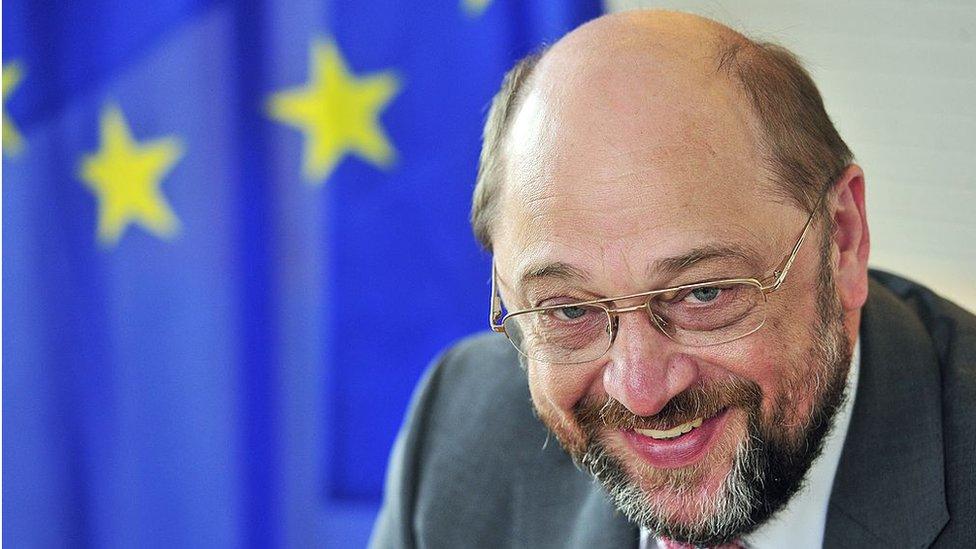 En su paso por Bruselas, Schulz se ganó fama de persona afable entre los periodistas.