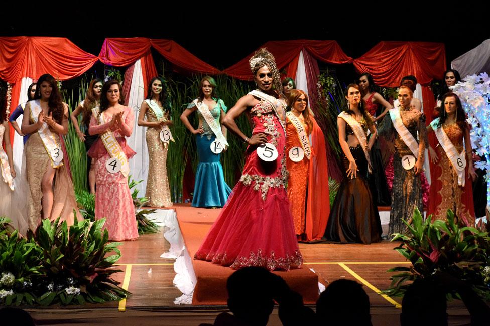 Participantes Miss Waria