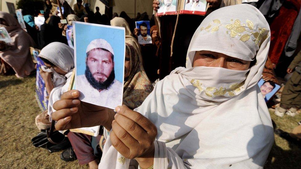 'پاکستان کې د جبري بې درکۍ پېښې ډېرې شوي'