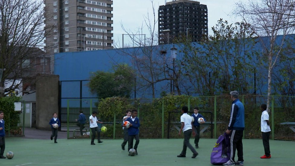 Grenfell Tower: School in the shadow of disaster