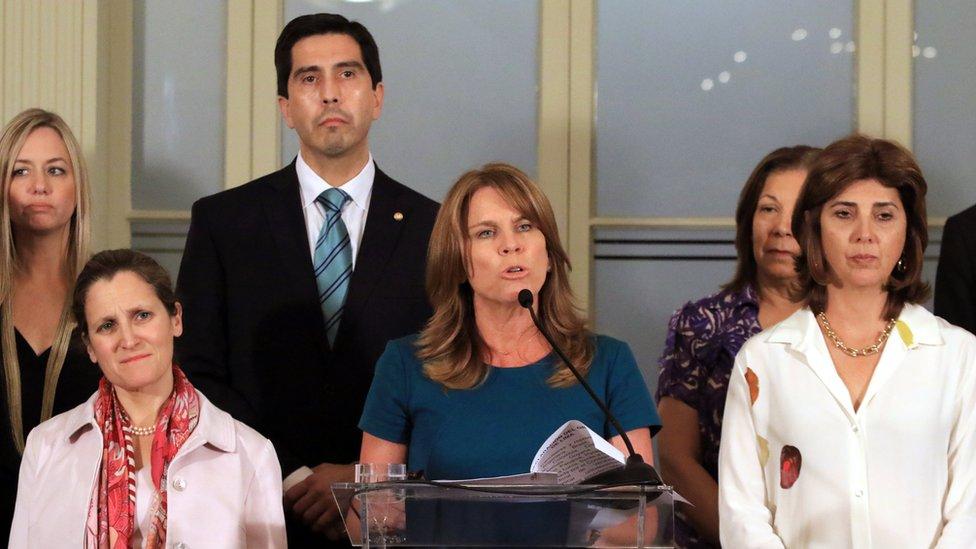 La canciller Cayetana Aljovín