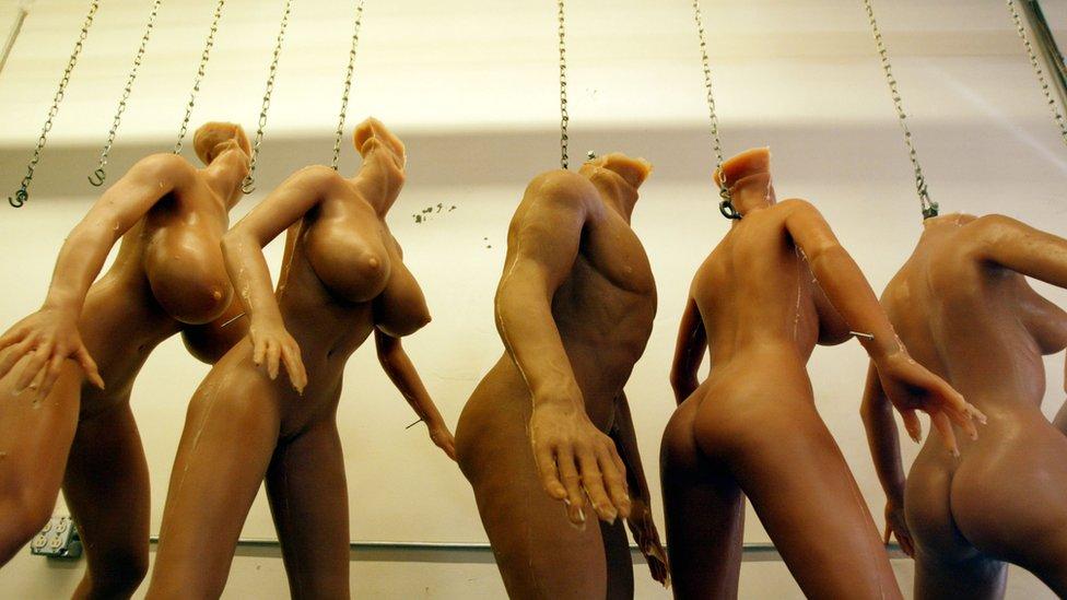 Muñecas sexuales Real Dolls