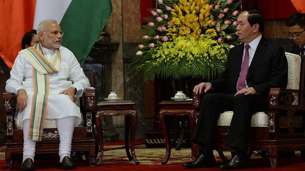 Quan hệ Việt-Ấn là bước đi đối trọng với TQ?