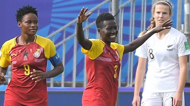 Under-20 Women's World Cup: Ghana end campaign with a win
