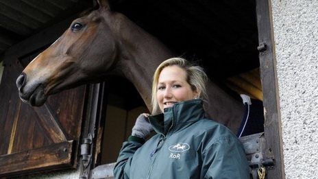 Laura Collett and Kauto Star