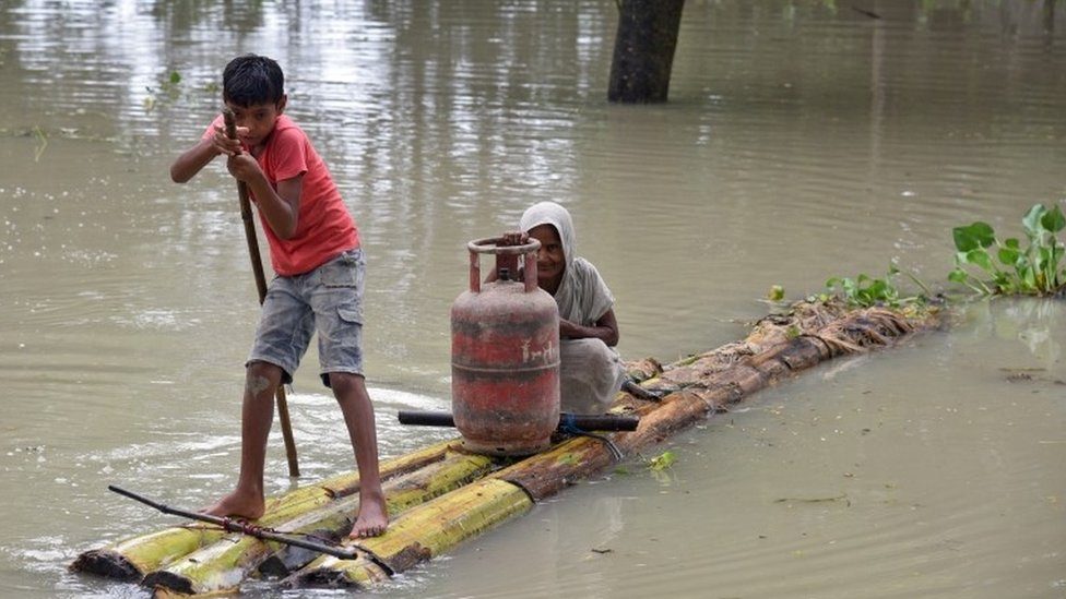 Deadly South Asia floods affect 16m people