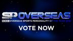 Vote for your Overseas Sports Personality