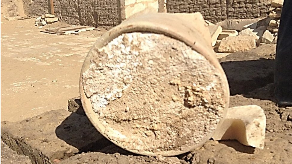 Ancient Egypt: Cheese discovered in 3,200-year-old tomb