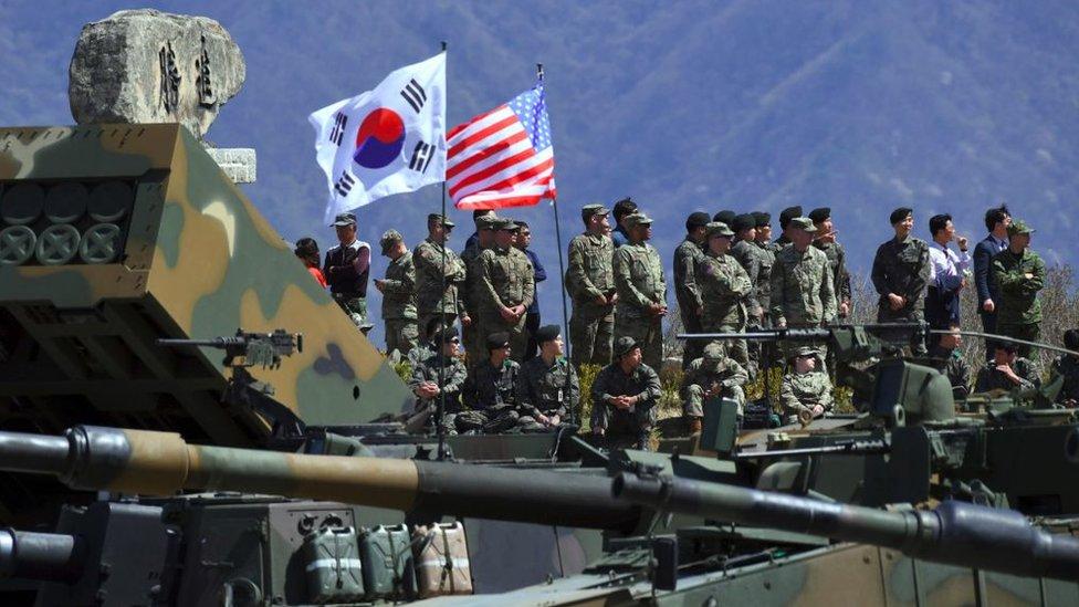 Estados Unidos es el principal aliado de Corea del Sur.