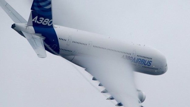 Europe's aircraft maker Airbus group beats forecasts with a rise in profits for the first half of the year.