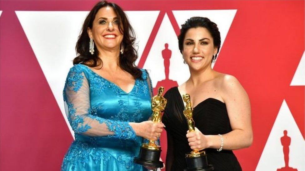 Oscars2019: भारत में बनी डॉक्यूमेंट्री 'पीरियड.एंड ऑफ़ सेन्टेन्स' ने जीता ऑस्कर