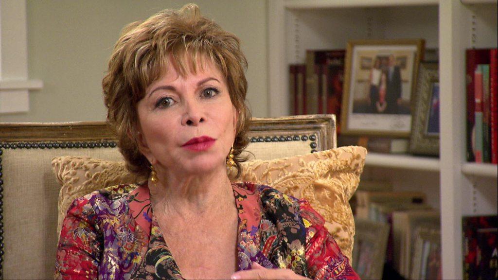 Isabel Allende: 'I get over grudges by writing'