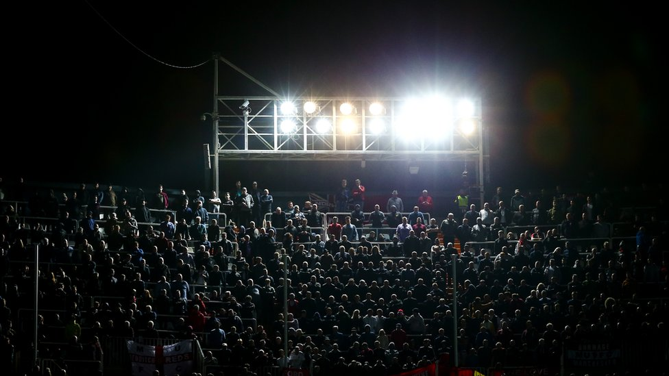 Used car batteries may power football stadium lights