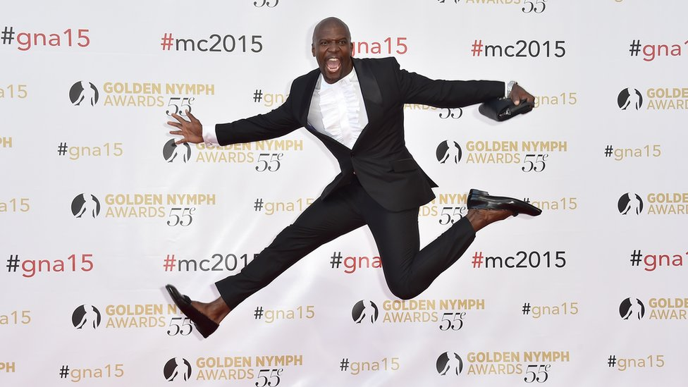 Actor Terry Crews at Monte-Carlo TV Festival