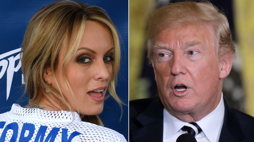 Judge orders Stormy Daniels to reimburse Trump's legal fees