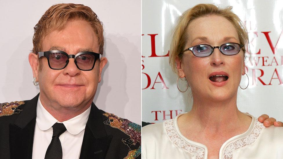 BBC News - Sir Elton John to write songs for Devil Wears Prada musical