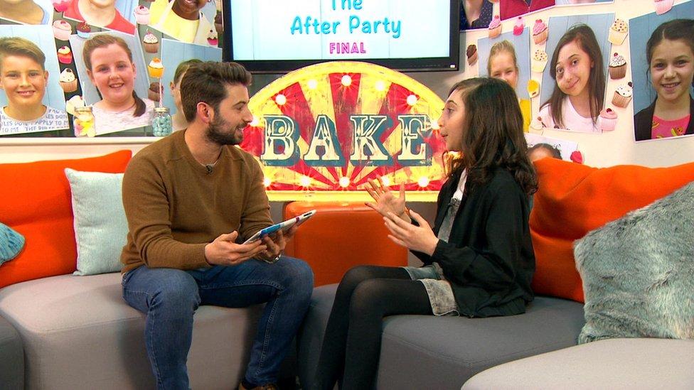 Nikki wins CBBC's Junior Bake Off - CBBC Newsround