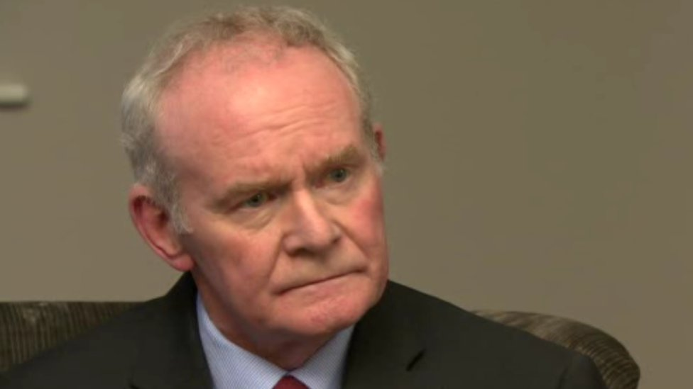 Martin McGuinness: Ex-deputy first minister will not stand in NI election