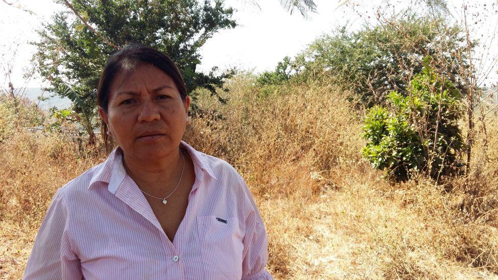 """No limpiaron nada"", dice la maestra Guadalupe Záyago."