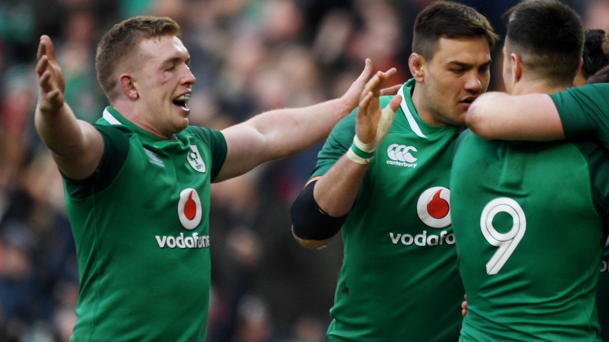 Six Nations 2018: Ireland win thriller against Wales in Dublin