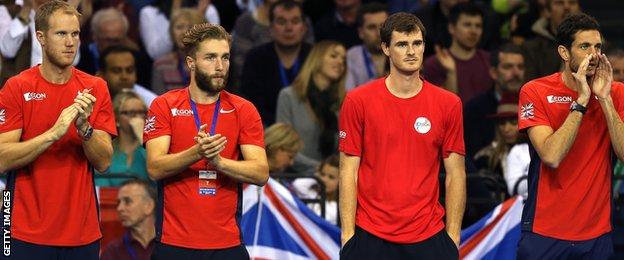 Davis Cup Team GB