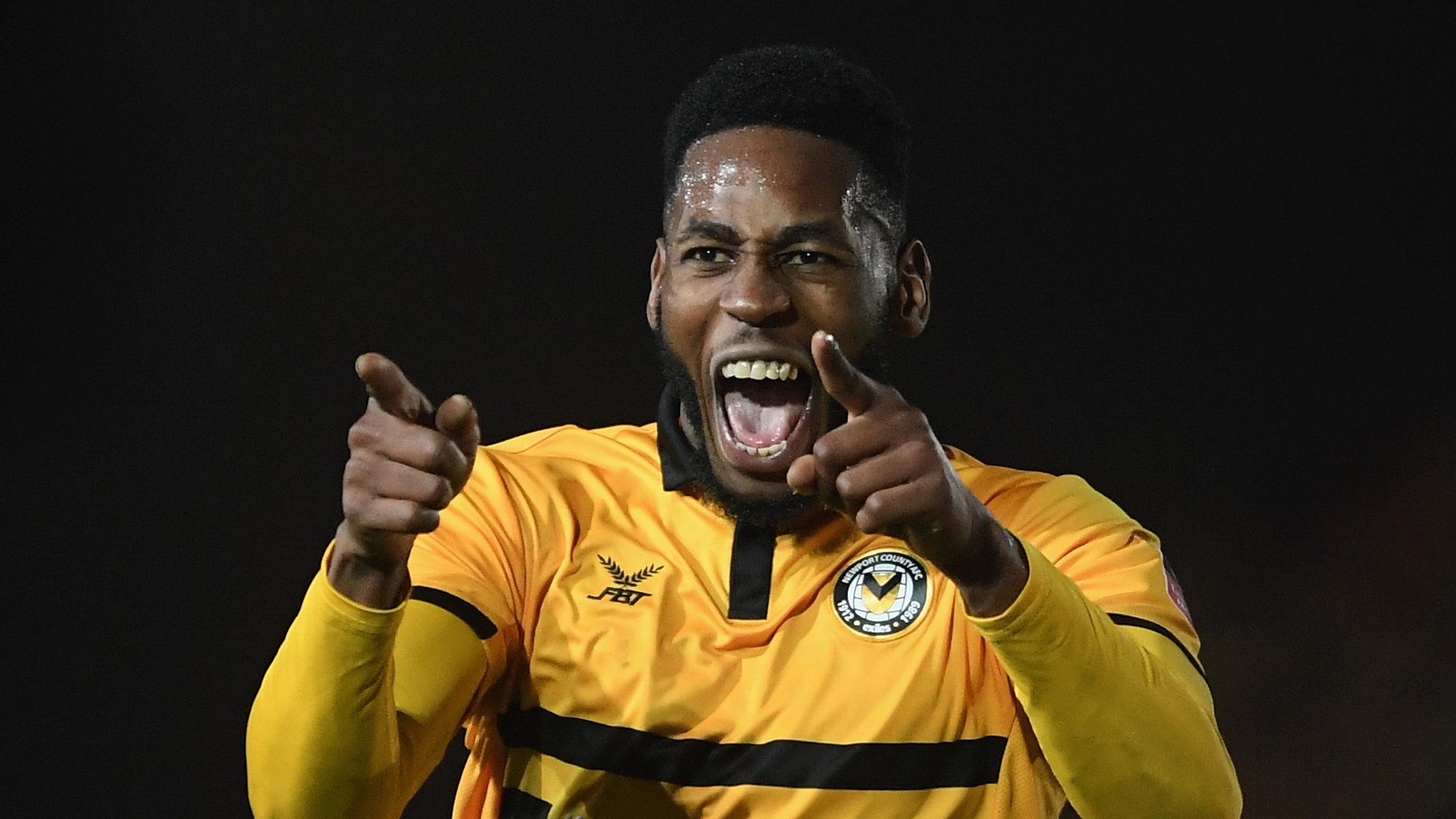 Newport 4-0 Wrexham: Home side set up Leicester tie after FA Cup replay victory