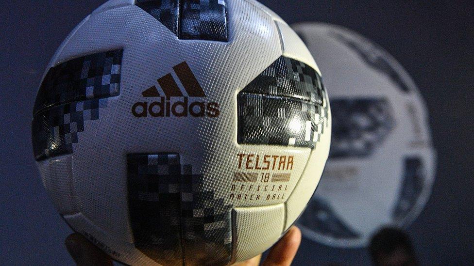 2018 فٹ بال ورلڈ کپ کا آفیشل فٹ بال ٹیلسٹار 18