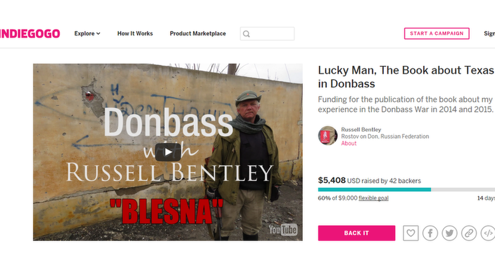 Westerners crowdfund for the breakup of Ukraine