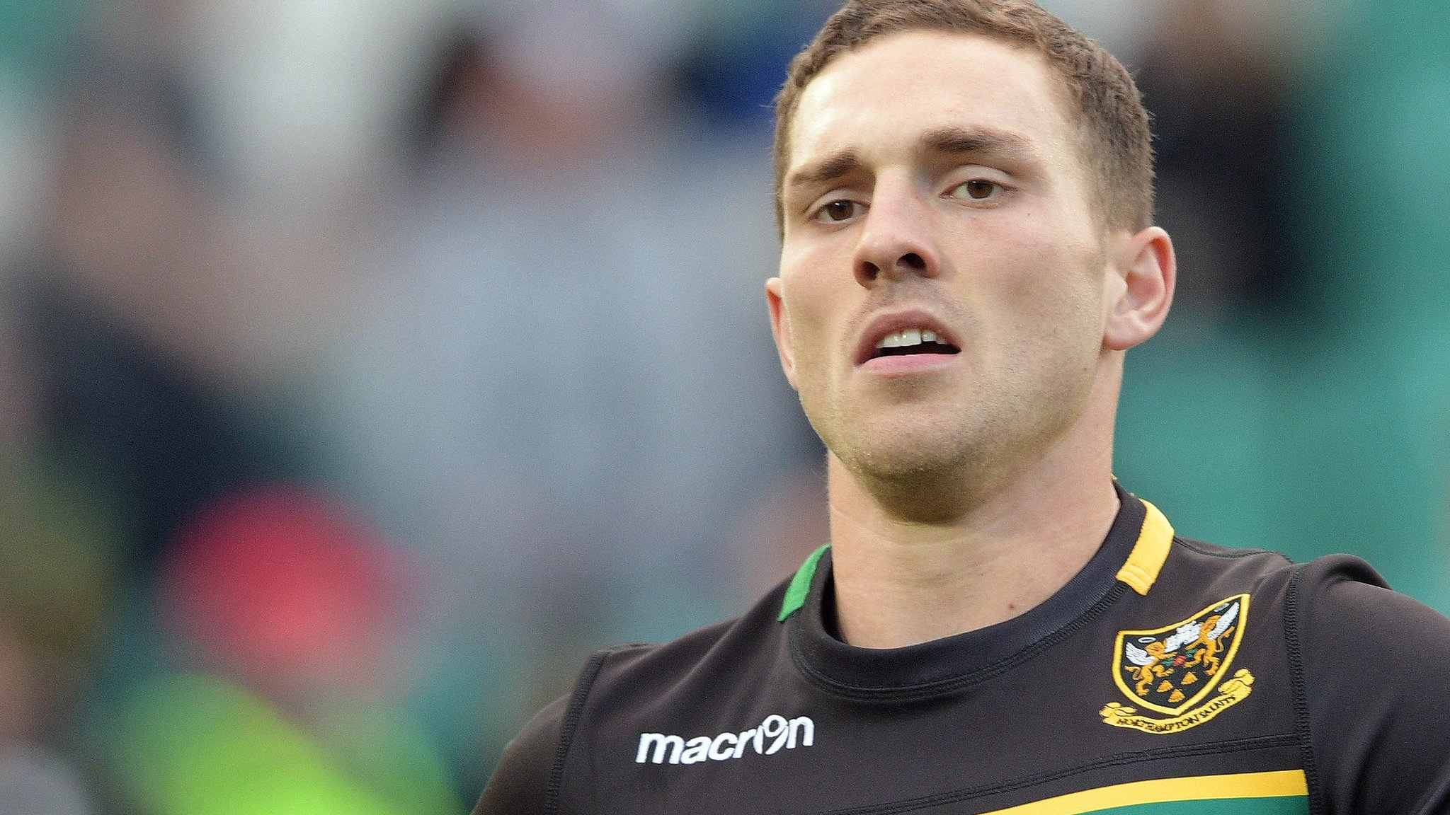 George North: Urgent concussion review meeting over Northampton winger's head injury