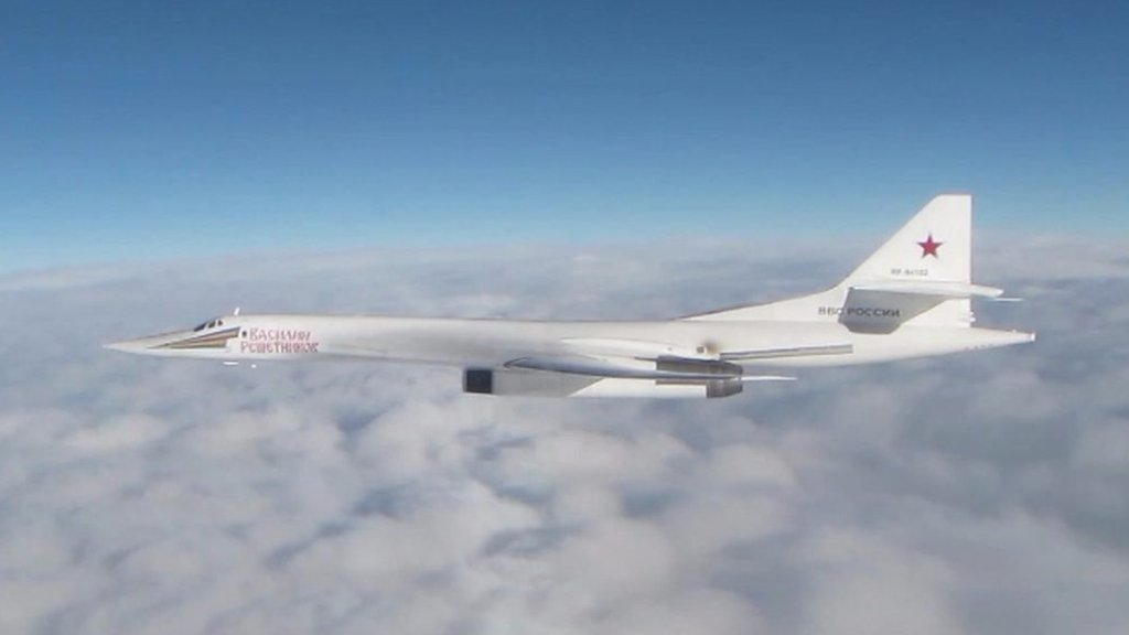 UK jets intercept Russian bombers near UK airspace