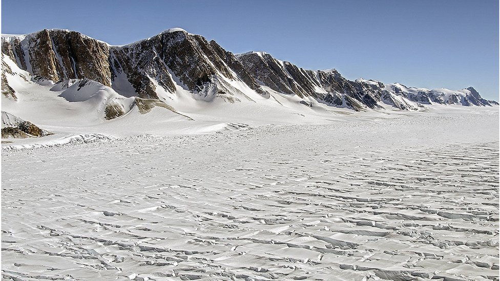 East Antarctica's glaciers are stirring
