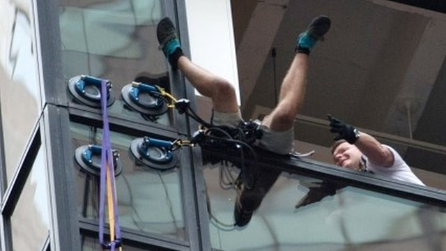 Moment Trump Tower climber arrested