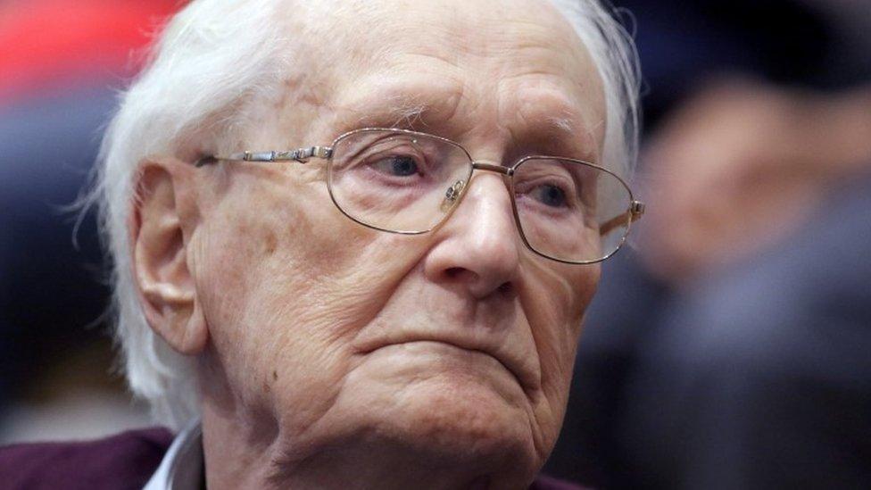 Convicted Auschwitz guard Oskar Groening pleads for mercy