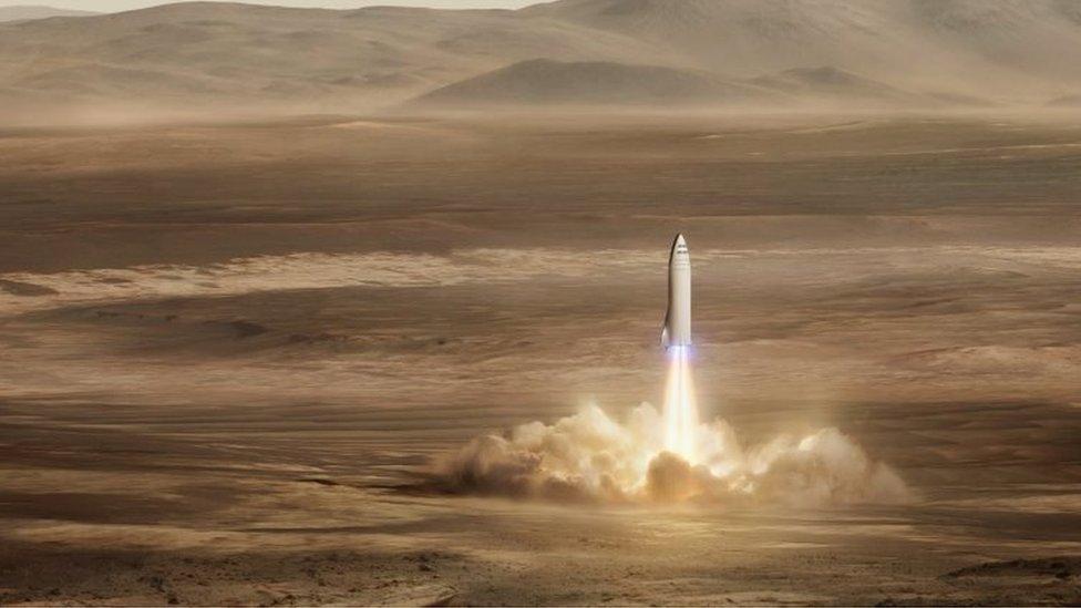 El objetivo de Space X es que sus cohetes sean reutilizables, lo que reduce los altos costos de la industria aeroespacial.