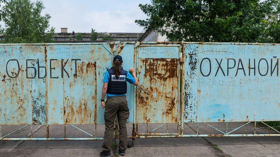 США закликають Росію вплинути на бойовиків, щоб захистити ОБСЄ